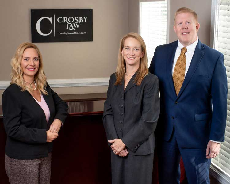 Crosby Law Firm group photo